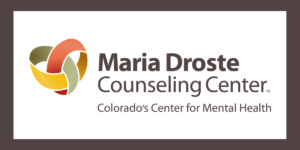 Maria Droste Counseling Center logo announcing a center news update.