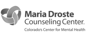 Maria Droste Counseling Center Grayscale Logo