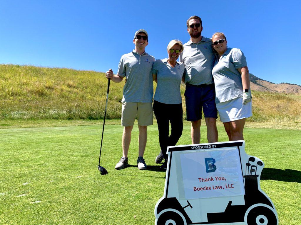 Annual Charity Golf Tournament team