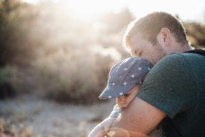 coregulation child parent hug
