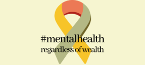 ribbon reading mental health regardless of wealth