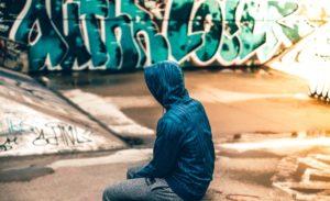 Teenager Alone